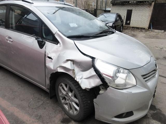 Фото пример кузовного ремонта Тойота