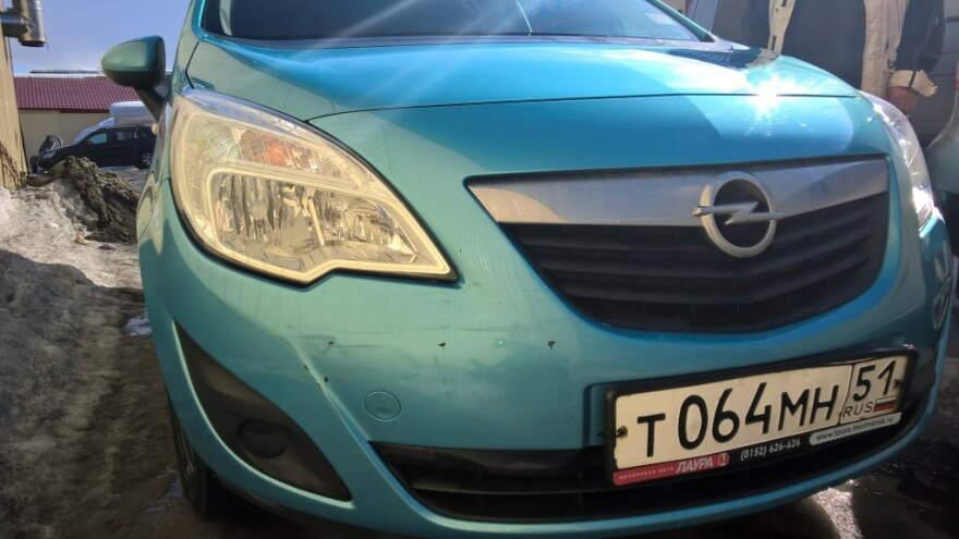 Opel фото до кузовного ремонта