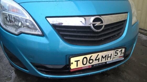 Opel Corsa: восстановление переднего бампера